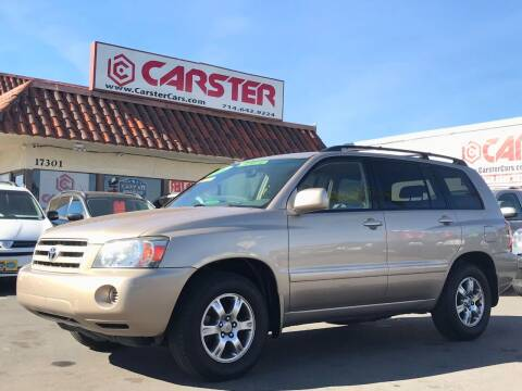 2006 Toyota Highlander for sale at CARSTER in Huntington Beach CA