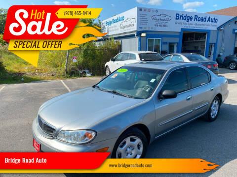 2001 Infiniti I30 for sale at Bridge Road Auto in Salisbury MA