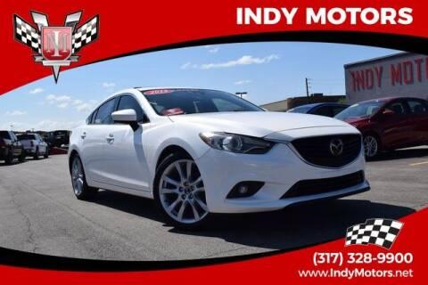 2015 Mazda MAZDA6 for sale at Indy Motors Inc in Indianapolis IN