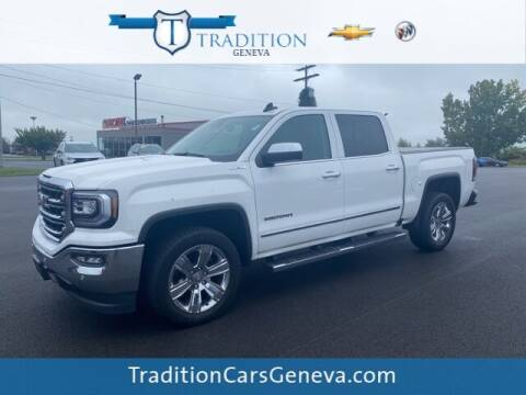 2018 GMC Sierra 1500 for sale at Tradition Chevrolet Buick in Geneva NY