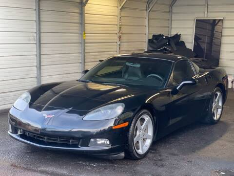 2007 Chevrolet Corvette for sale at Auto King in Roseville CA