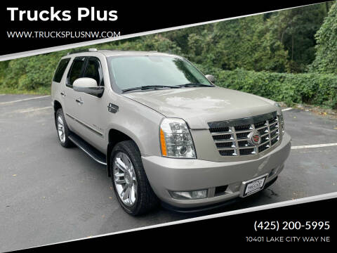 2007 Cadillac Escalade for sale at Trucks Plus in Seattle WA