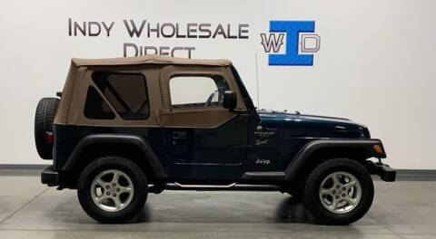 1997 Jeep Wrangler for sale at Indy Wholesale Direct in Carmel IN