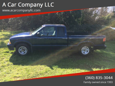 2000 GMC Sonoma for sale at A Car Company LLC in Washougal WA
