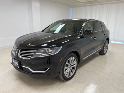 2017 Lincoln MKX for sale at Kerns Ford Lincoln in Celina OH