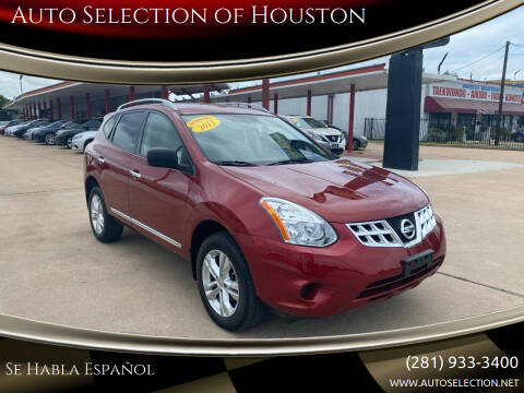 2015 Nissan Rogue Select for sale at Auto Selection of Houston in Houston TX