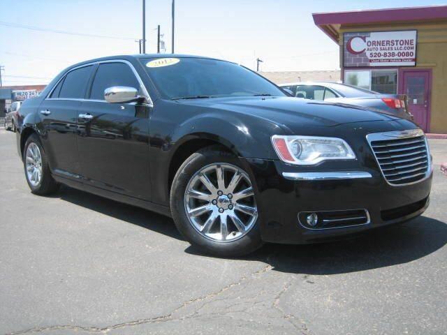2012 Chrysler 300 for sale at Cornerstone Auto Sales in Tucson AZ