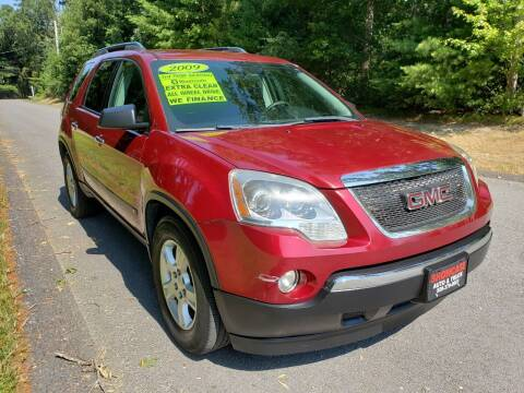 2009 GMC Acadia for sale at Showcase Auto & Truck in Swansea MA