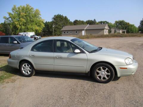 2004 Mercury Sable for sale at D & T AUTO INC in Columbus MN