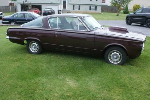 1965 Plymouth Barracuda for sale at Classic Car Deals in Cadillac MI