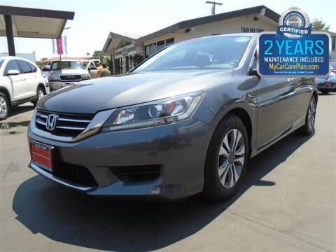 2013 Honda Accord for sale at Centre City Motors in Escondido CA