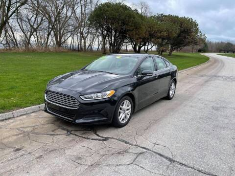 2014 Ford Fusion for sale at Aleid Auto Sales in Cudahy WI