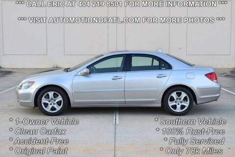 2005 Acura RL for sale at Automotion Of Atlanta in Conyers GA