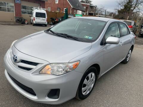 2011 Toyota Corolla for sale at Sam's Auto in Akron PA
