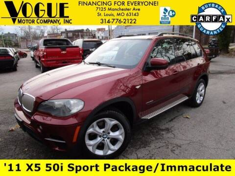 2011 BMW X5 for sale at Vogue Motor Company Inc in Saint Louis MO