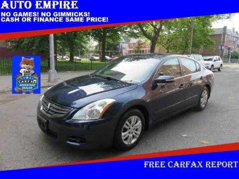 2010 Nissan Altima for sale at Auto Empire in Brooklyn NY