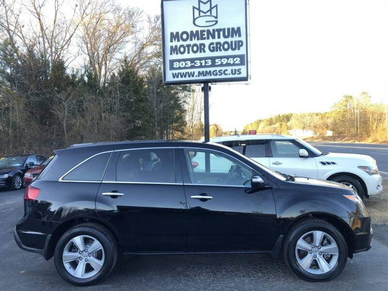 2012 Acura MDX for sale at Momentum Motor Group in Lancaster SC