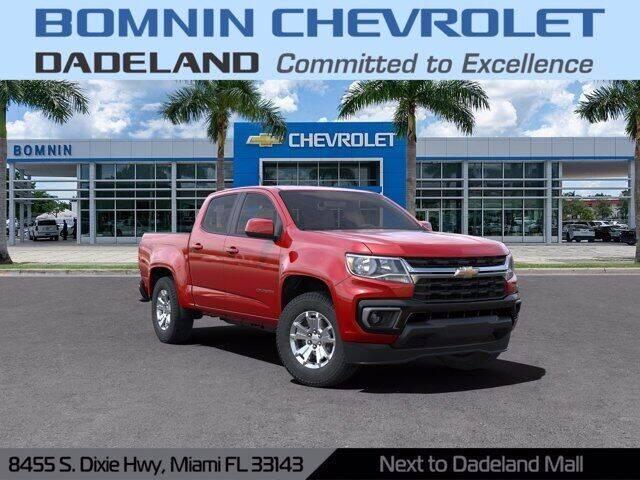 2021 Chevrolet Colorado for sale in Miami, FL