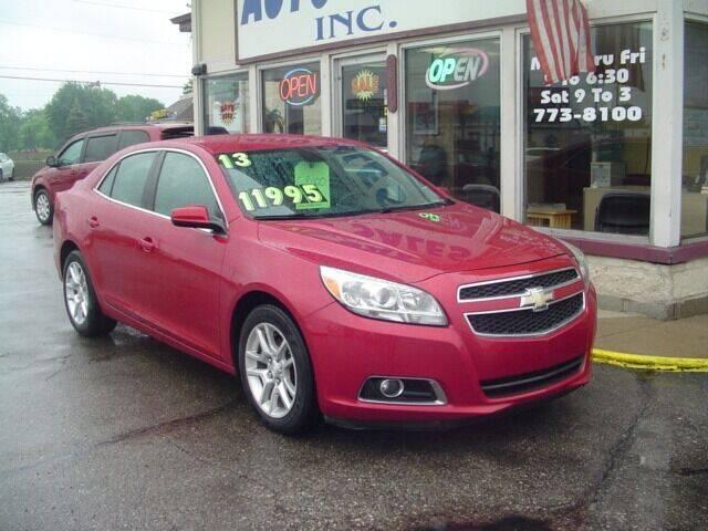 2013 Chevrolet Malibu for sale at G & L Auto Sales Inc in Roseville MI