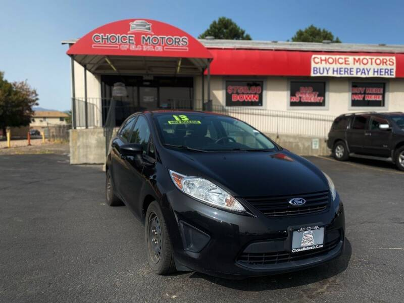 2013 Ford Fiesta for sale at Choice Motors of Salt Lake City in West Valley  City UT