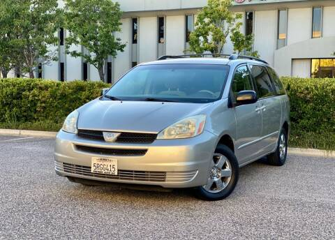 2005 Toyota Sienna for sale at Carfornia in San Jose CA