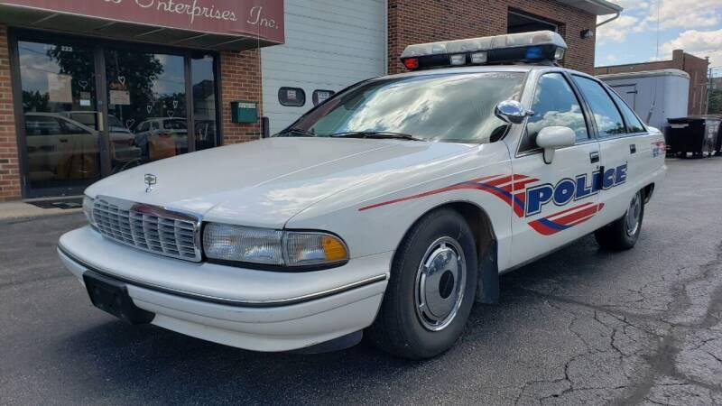 1991 Chevrolet Caprice for sale at Veto Enterprises, Inc. in Sycamore IL