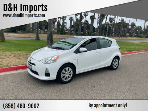 2012 Toyota Prius c for sale at D&H Imports in San Diego CA