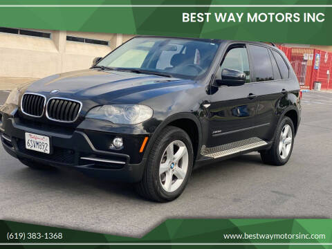 2009 BMW X5 for sale at BEST WAY MOTORS INC in San Diego CA