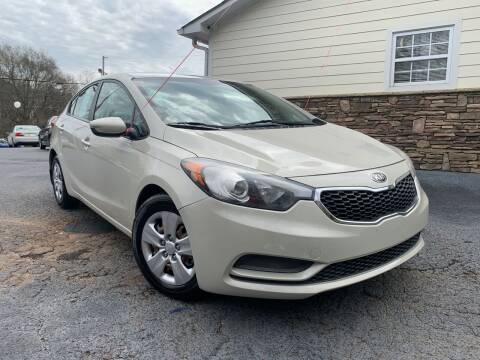 2015 Kia Forte for sale at No Full Coverage Auto Sales in Austell GA