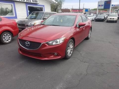 2015 Mazda MAZDA6 for sale at Nonstop Motors in Indianapolis IN