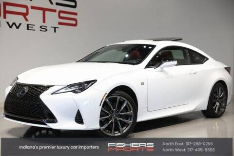 2019 Lexus RC 350 for sale at Fishers Imports in Fishers IN