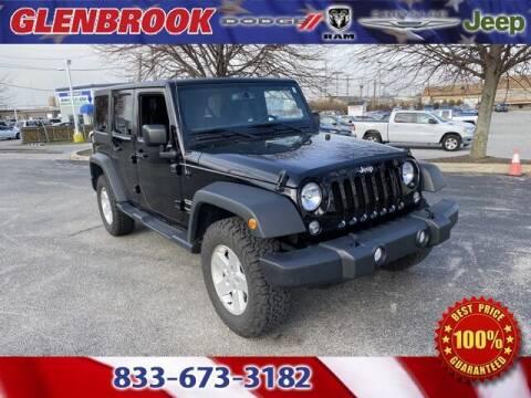 2018 Jeep Wrangler JK Unlimited for sale at Glenbrook Dodge Chrysler Jeep Ram and Fiat in Fort Wayne IN