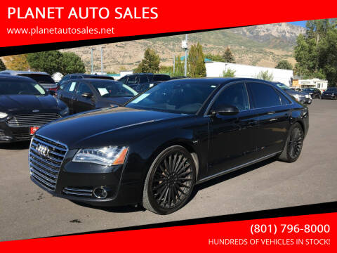 2014 Audi A8 L for sale at PLANET AUTO SALES in Lindon UT