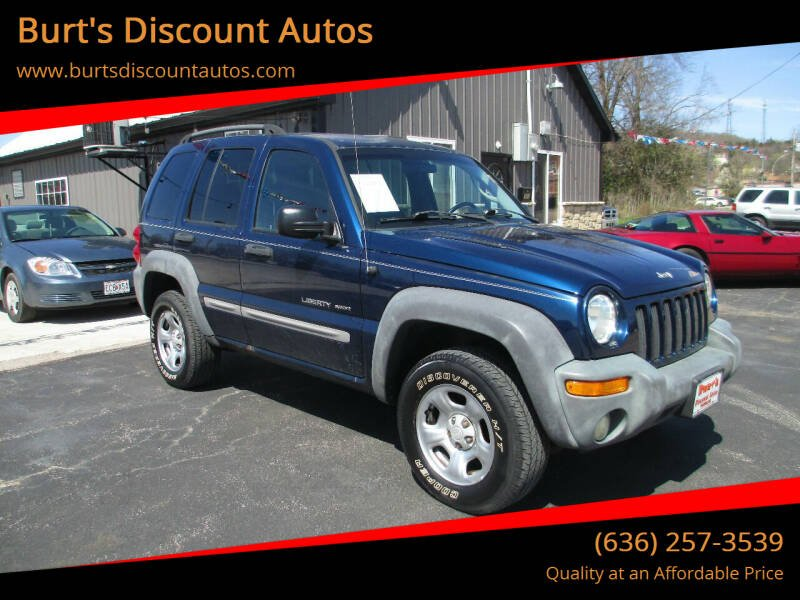 2002 Jeep Liberty for sale at Burt's Discount Autos in Pacific MO