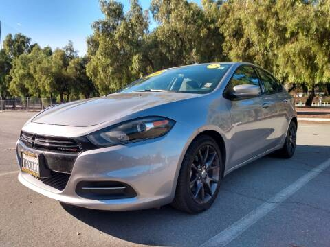 2016 Dodge Dart for sale at ALL CREDIT AUTO SALES in San Jose CA