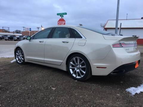 2016 Lincoln MKZ for sale at Philip Motor Inc in Philip SD