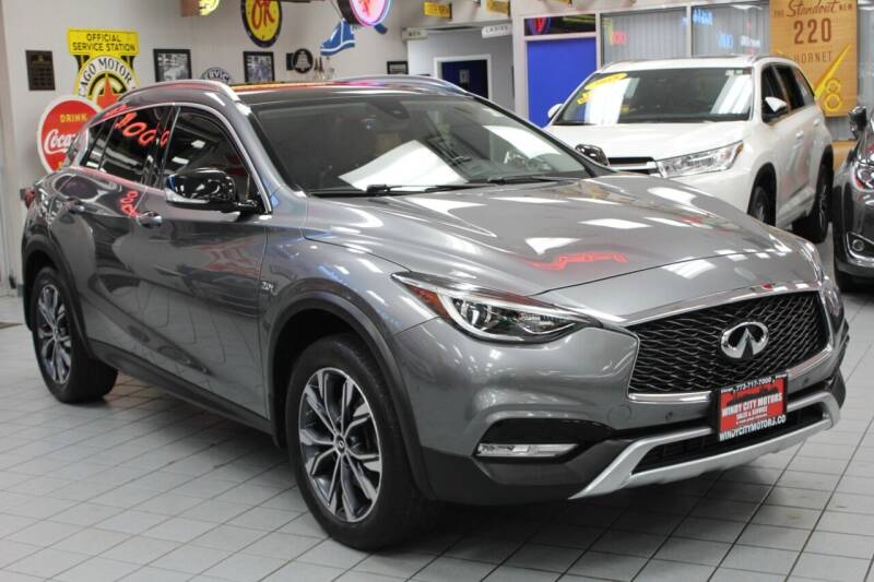 2017 Infiniti QX30 for sale at Windy City Motors in Chicago IL