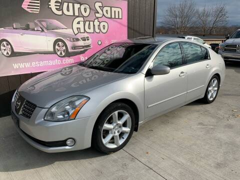 2006 Nissan Maxima for sale at Euro Auto in Overland Park KS