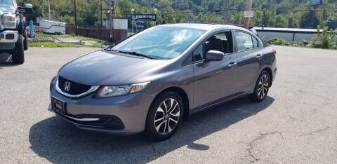 2015 Honda Civic for sale at Steel River Auto in Bridgeport OH