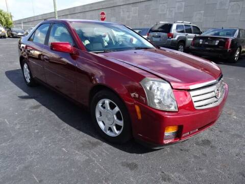 2003 Cadillac CTS for sale at DONNY MILLS AUTO SALES in Largo FL