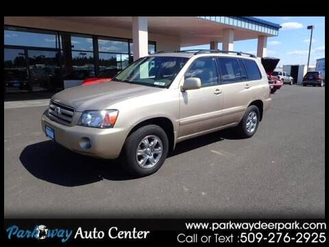 2007 Toyota Highlander for sale at PARKWAY AUTO CENTER AND RV in Deer Park WA