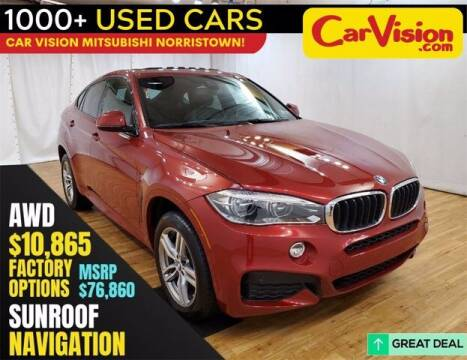 2018 BMW X6 for sale at Car Vision Buying Center in Norristown PA