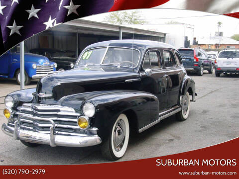 1947 Chevrolet Fleetline for sale at Suburban Motors in Tucson AZ