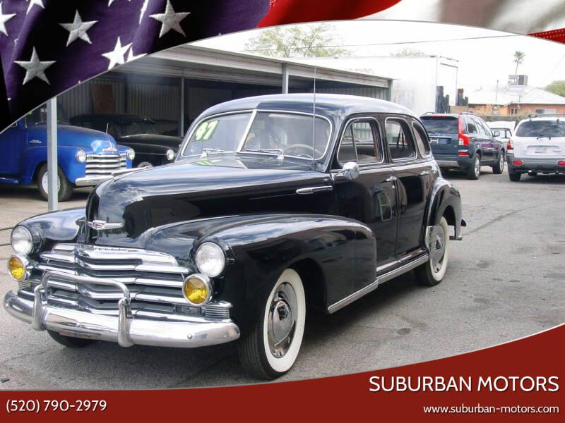 1947 Chevrolet Fleetline for sale at Suburban Motors in Tucson AZ