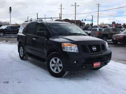 2015 Nissan Armada for sale at Rocky Mountain Commercial Trucks in Casper WY