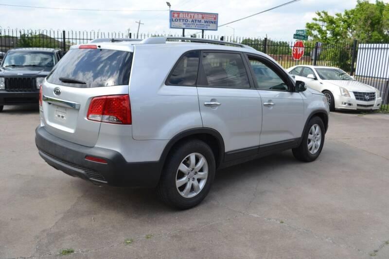 2012 Kia Sorento for sale at Preferable Auto LLC in Houston TX