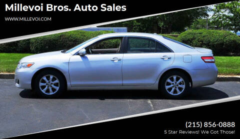2011 Toyota Camry for sale at Millevoi Bros. Auto Sales in Philadelphia PA