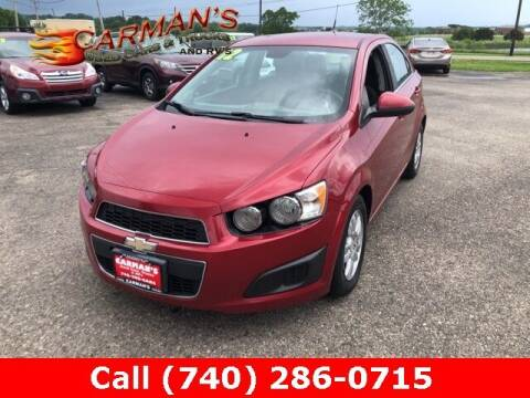 2012 Chevrolet Sonic for sale at Carmans Used Cars & Trucks in Jackson OH