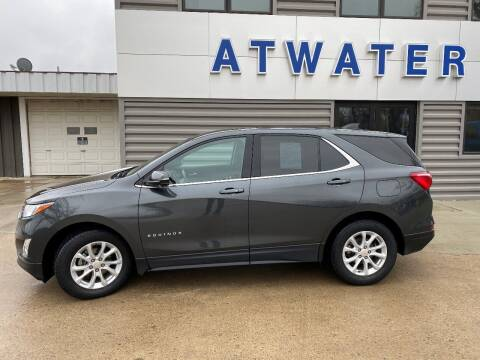 2018 Chevrolet Equinox for sale at Atwater Ford Inc in Atwater MN