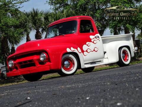 1954 Ford F-100 for sale at SURVIVOR CLASSIC CAR SERVICES in Palmetto FL